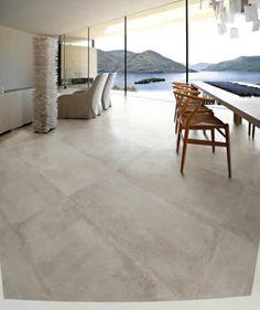 Baldosa de suelo / de gres porcelánico / imitación hormigón - NR.21 : CEMENTO LAPPATO - VIVA Ceramica