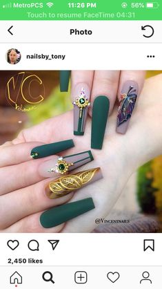 25 New Nail Art Equipment – Automne Nail Art Automne Nails Pretty Nail Designs Nail … - Dessins Ongles Fabulous Nails, Gorgeous Nails, Pretty Nails, Matte Nails, Stiletto Nails, Acrylic Nails, New Nail Art, Fall Nail Art, Autumn Nails