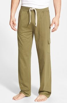 Men's Majestic International 'Camo Land' Cotton Lounge Pants