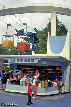 OMG! This is how I remember Disneyland back when I was a little kid!