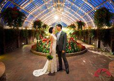 Phipps Conservatory Wedding 001/ Joe Appel Photography