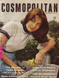 Signorina Pier Angeli - Pier Angeli on the cover of Cosmopolitan. Vintage Magazines, Vintage Ads, Vintage Images, Sisters By Heart, Twin Sisters, Cosmopolitan Magazine, Life Magazine, Covergirl, In Hollywood