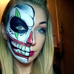 #facepainting #ronniemena #skull #fxdiamond #malujmydobrze