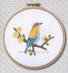 Shop online for Tropical Yellow Bird with Frame Embroidery Kit at sewandso.co.uk. Browse our great range of cross stitch and needlecraft products, in stock, with great prices and fast delivery.
