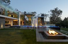 Our modern, green home in Beverly Hills
