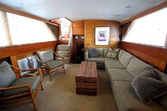 1966 Chris-Craft Constellation Motor Yacht for sale Yacht Interior, Interior Design, Power Boats For Sale, Classic Yachts, Chris Craft, Yacht For Sale, Motor Yacht, Motor Boats, Constellations