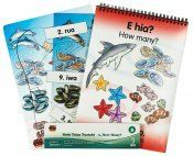 Discover the brilliance of counting in a magical underwater world. The Mahi Teina Tuatahi (Younger Learning First Series) is a series of different Te Reo learning systems that help children get started with learning the basics of Te Reo. Every pack includes a bound workbook, magnetic matching learning system and puzzle.