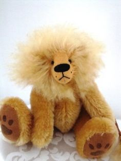 Roary - The Friendly Lion.  $85.00 Christmas Shows, Lion, Teddy Bear, Toys, Animals, Leo, Animais, Lions, Animales