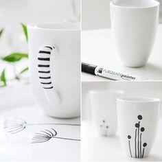 Porselen kalemiyle çizin çiziştirin! - Nasıl Yapılır - Elizim