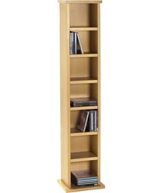 Incroyable Buy Maine Media DVD And CD Storage Tower   Beech Effect At Argos.co.