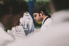 """Alazne Azkunaga y Piero Castellano. Del bar restaurante El Txakoli, en la Carretera Artxanda-Santo Domingo, 9 de Bilbao (T. 94 4455015). Participaron en el Campeonato de Euskal Herria de Pintxos con """"Ceviche vasco-peruano de bacalao"""". Cómprate un libro de campeonato con todas las recetas y fotos: http://www.campeonatodepintxos.com/tienda/ #Hondarribia #Pintxos #Pinchos #Tapas #Fuenterrabía #Fontarrabie @hondarribiaturi  @euskadipintxos"""