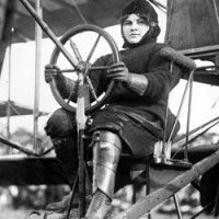 Blanche Stuart Scott aka Betty Scott, possibly the first American aviatrix.She was also the second woman to drive a  motor car across the USA.