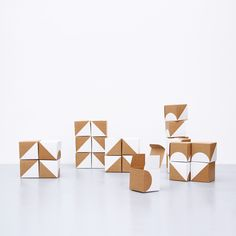 SNUG.BOXES advent calendar / red and white with cardboard. Get two for a better price and you can mix it or use a red and a white one! Have a look in our shop! http://snugonline.bigcartel.com/product/2-x-snug-boxes-advent-calendar