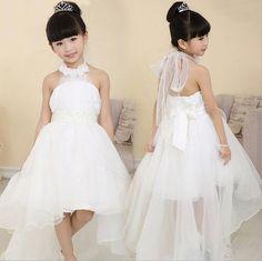 $26.88 (Buy here: https://alitems.com/g/1e8d114494ebda23ff8b16525dc3e8/?i=5&ulp=https%3A%2F%2Fwww.aliexpress.com%2Fitem%2F2016-skirt-children-wedding-dresses-long-tail-Girls-Princess-Dress-BEADED-BELT-skirts%2F32625961614.html ) 7 Colors Girls Princess Party Dress Summer Sleeveless Long Tail Wedding Dresses Girl Children Lace Party Clothes 4-12 years old for just $26.88