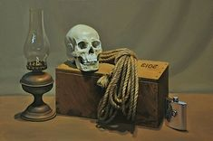 Still Life with Human Skull 2013 Oil on Linen Still Life 2, Be Still, Vanitas, Human Skull, Still Life Photography, Artist, Lisa, Image, Still Life
