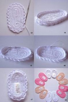 Scarpina ballerina décolleté c Quick Crochet Baby Booties With Boutique Crochet T-Strap Sandals Baby Booties - Kneat Heaven Boutique These cuties will make a great baby shower gift. Crochet Baby Boots, Crochet Baby Sandals, Knit Baby Booties, Booties Crochet, Baby Girl Crochet, Crochet Baby Clothes, Crochet Slippers, Baby Knitting Patterns, Crochet Patterns