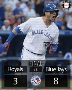 2 HR from Josh Donaldson and a 3-run HR from Troy Tulowitzki lift the Blue Jays to a 8-3 win over the Royals. 7/5/2016