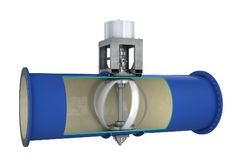 Energy producing in-pipe water turbine - harnessing energy from things we already use = genius