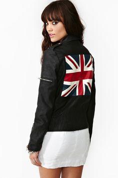 Union Jack Moto Jacket