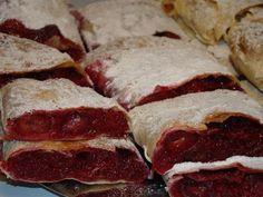 Házi rétes :: Ami a konyhámból kikerül Bacon, Breakfast, Food, Morning Coffee, Eten, Meals, Morning Breakfast, Diet