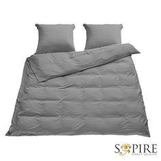 SOPIRE Bambus sengetøj til dobbeltdyne grå 240x220