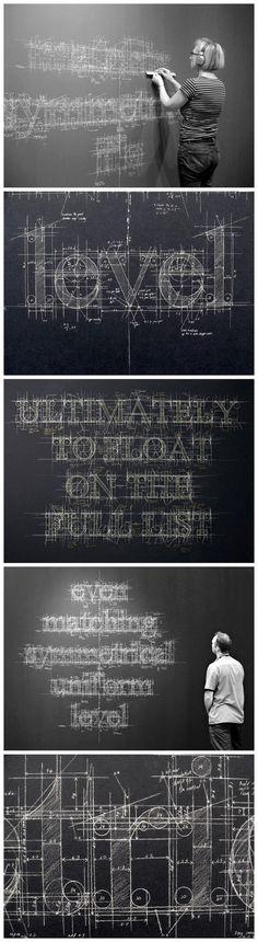 Liz Collini blackboard design