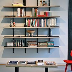 84 Fantastic Floor to Ceiling Bookshelves with Ladder I Can Only Dream Of Having Bookshelves Library with A Decor, Living Room Images, Floor To Ceiling Bookshelves, Bookshelves Diy, Home Library Design, Interior, Bookshelves, Steel Bookshelf, Home Decor