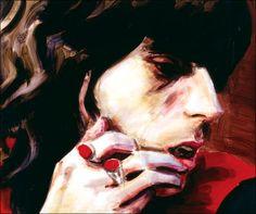 Elizabeth Peyton  (nacido en 1965) es un  americano  pintor más conocido por los retratos estilizados e idealizados de sus amigos cercanos y novios, celebridades del pop, y monarquía europea. Peyton vive y trabaja en  Nueva York .MAGDA Vacariu: RETRATOS CONTEMPORÁNEAS