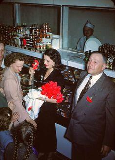 Stanley Genetti - Laurel St. Market, Hazelton, PA, 50th Anniversary, 1951