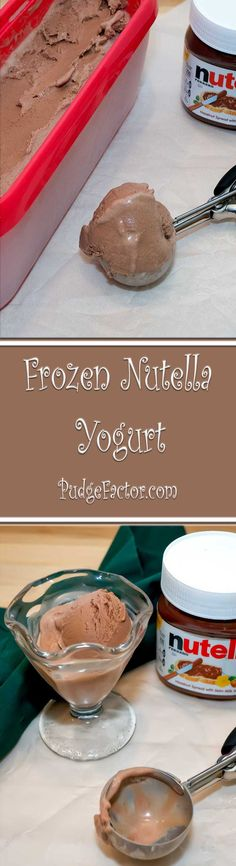 Creamy, chocolaty, and absolutely delicious. A healthy alternative to ice cream.