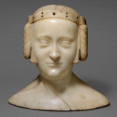 Jean de Liège, Bust of Marie de France, c. 1381
