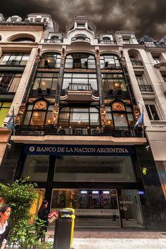 .Edificio Banco Nacion restaurado BUENOS AIRES