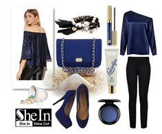"""#SheIn"" by edin-levic ❤ liked on Polyvore featuring Chanel, Pour La Victoire, Chloe + Isabel, MAC Cosmetics, Lano, Estée Lauder, TIBI and STELLA McCARTNEY"