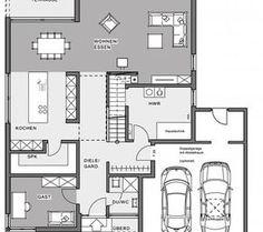 Berger Massivhaus berger massivhaus somnium grundriss erdgeschoss plány domov