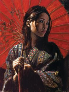 Artist: Fabian Perez. Geisha II. Another favorite of mine. I had to post another one of his works.