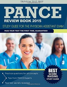 PANCE Review book 2015: Study Guide for the Physician Assistant Exam by PANCE Review Team http://www.amazon.com/dp/1941759025/ref=cm_sw_r_pi_dp_vExgvb0DZV2N0