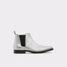 Vianello-R Silver Men's Chelsea boots   ALDO US
