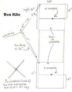 How to make a Box Kite