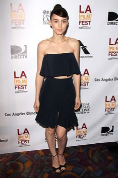 Rooney Mara Goes For Girly In J.W. Anderson #Refinery29
