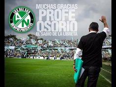 Despedida Juan Carlos Osorio desde el Atanasio Girardot