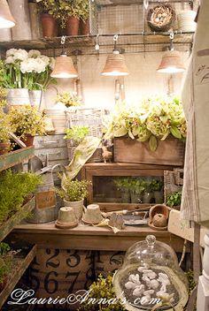 Outdoor Potting Room | from Garden Sunshine