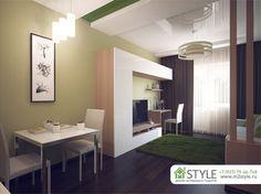 Квартира-студия г.Тула (вариант 3). Квартира-студия
