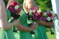 bridesmaid flowers by @Laura Davis