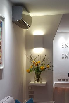 Tornado TR7226 Linear Plaster Wall Light. Twin 13watt Vossloh Panasonic mains 220v dimmable LED. Integral driver and full heat sink. Currently the best LED technology with reliability and repeatibility in mind.Tornado TR7226 Linear Plaster Wall Light. Manufactured by Tornado Lighting & Design Ltd, London