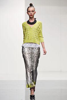 Liviana Conti | Verão 2014 | Milão Fashion Week