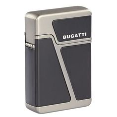 Bugatti Butane Cigar Torch Lighter Dual Flame Gunmetal and Black Cool Lighters, Cigar Lighters, Ignition System, Torch Light, Tactical Knives, Retro Design, Bugatti, Cool Stuff, Stuff To Buy