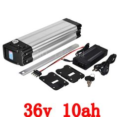 36v 10ah Battery 500w Ebike Battery 36v With 42v 2a Charger,15a Bms Lithium Scooter Battery 36v Electric Bicycle Free Shipping