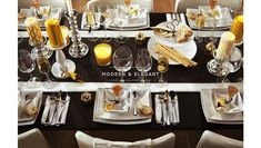 Great table setting. Just Ikea.