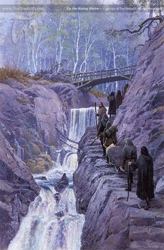 Up the Rainy Stairs - Ted Nasmith