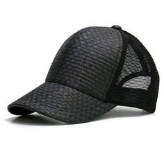 ea64a58e3b8 Black color paper material sports cap , fashion blank hat with adjustable  size at madeinchinacaps